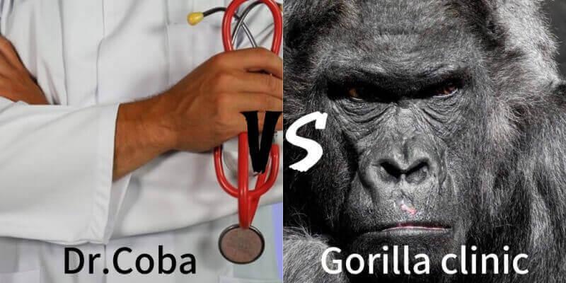 【ヒゲ脱毛を徹底比較】ドクターコバVSゴリラ脱毛|口コミは全て論破できる